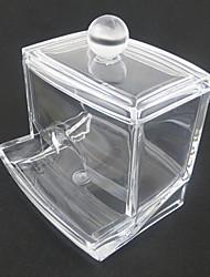 tiroir de rangement en acrylique transparent tiroir boîte de tige en forme de cosmétiques organisateur cosmétique