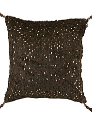 Perles / Polyester Coussin avec rembourrage , Solide Traditionnel/Classique