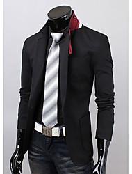 Novidade decote Brasão Suit vska Homens