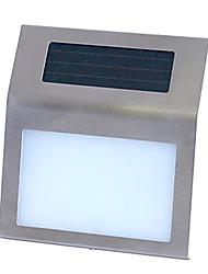 Outdoor zonne-energie RVS 2 LED Wit Licht voor Doorplate (CIS-57215)