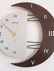 "12.5"" Roman Numbers Mute Fashion Wall Clock (Random Color)"