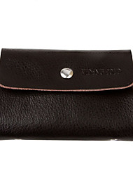 VD-POLO Genuine Leather Bag Business Card (marrone) _121