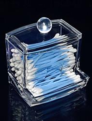 acrylique transparente en forme de tiroir tiroir-tige boîte cosmétiques de stockage organisateur cosmétique