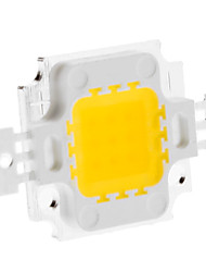 DIY 10W 820-900LM 900mA 3000-3500K Warm White Light Integrated LED Module (9-12V)