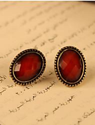 MISS U Women's Red Sexy Vintage Earrings