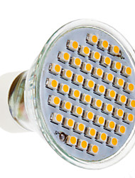 GU10 3 W 48 SMD 3020 200 LM Warm White Spot Lights AC 220-240 V
