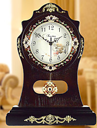 "16 ""H Country Style Muet simple table Horloge"