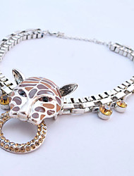 Women's Tiger Head Necklace
