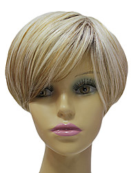High Quality Synthetic Japanese Kanekalon Capless Short Synthetic Silky Staight Hair Wig