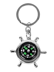 Personalized Engraved Gift Creative 2-in-1 Compass Keychain