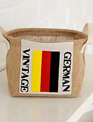 Творческий Портативный Флаг Германии Корзина печати хранения