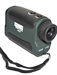 Azul Vermelho 10x Zoom Digital 25 milímetros Eye Lens Laser Range Finder