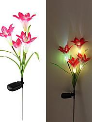 Солнечный цветок, со светодиодами