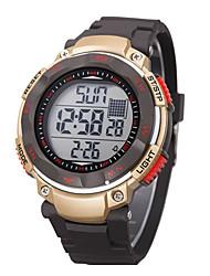 D 'enfants / Hommes SYNOKE LEO cadran numérique PU bande résistant à l'eau Piscine montre-bracelet