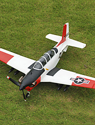 Top Hobby RC T-34 4CH OEB RC Avion RTF (Rouge)