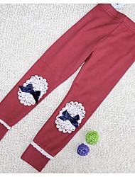 Girl's Cotton Blend Leggings , Winter