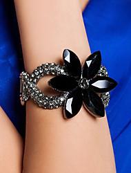 Bracelet élégant en alliage avec strass femmes