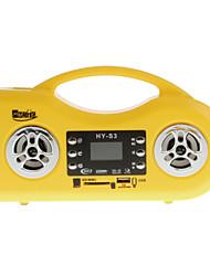 Multifunctional Card Reader Speaker with LED Flashlight FM Radio