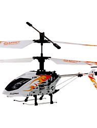 DFD F106 4CH RC Helicopter with Gyro & Light (White)