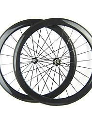 23 millimetri Larghezza 700C Full Carbon Tubular 50 millimetri Road Bike / Ruote bici