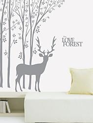 Animal Reindeer Wall Stickers