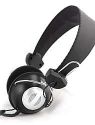 Salar V80 Stereo moda cuffie over-ear con microfono e telecomando per PC / iPod / iPhone / Samsung / HTC