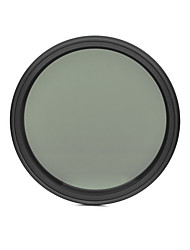 fotga® 49mm delgado ND del atenuador de filtro ajustable nd2 densidad neutra variable para ND400