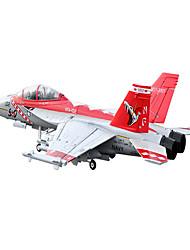 Lan Xiang F18 12CH 70mm EDF RC JET Plane PNP (Red Viper)
