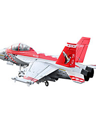 Lan Xiang F18 12CH 70mm EDF RC Jet Plane PNP (Rouge Viper)