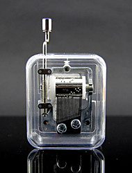 Transparent For Elise Crank Music Box