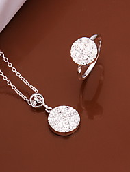 Sweet Silver Plated Copper (Necklaces&Ring)