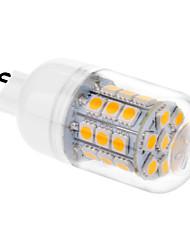 3.5w g9 ha condotto le luci di mais t 31 smd 5050 200-250 lm bianco caldo ac 220-240 v