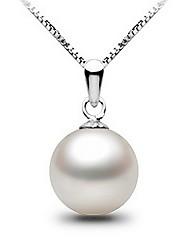 Honeybaby naturel perle collier pendentif argent