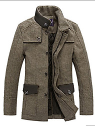 2013 New Men'S High Quality Wool Business Casual Jacket