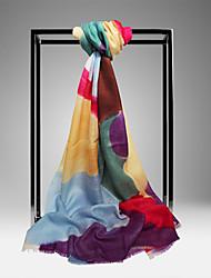 Meizhi Женская Непал Импорт Чистая шерсть 200 * 70см Желтый шарф