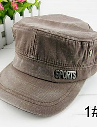 New Arrival Men Vintage Casual Rayon Military Cap