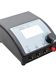 Dual Machine LCD Digital Tattoo Power Supply