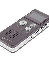 Co-crea 4GB 3D Sound MP3 PlayerFM Tuner Professional Digital Voice Recorder Purple