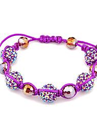 Fashion Beaded Bracelet(Random Color)