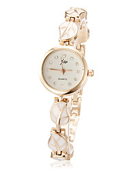 Women's Watch Leaf Pattern Alloy Bracelet Cool Watches Unique Watches Fashion Watch