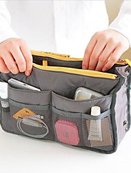 Women Oxford Cloth / Nylon Casual Cosmetic Bag Green / Orange / Gray