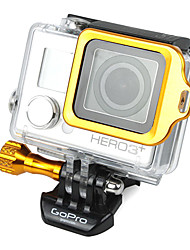 GoPro Aluminum Golden LANYARD RING Mount with Hidden Screw Design for 3 Plus / 3+
