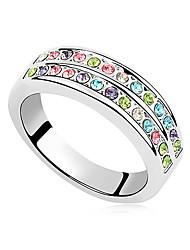 Xingzi Basic Style Austria Crystal 9343 Ring