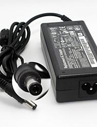 Adaptador de CA compacto portátil portátil para Toshiba L20 PA-1600-05/06/07 M30X (19V 3.42A 5.5 * 2.5mm) enchufe de la UE