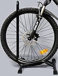 L-Form Black Steel Fahrrad / Bike Kick