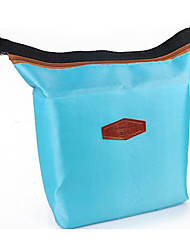 Women Casual Cosmetic Bag Blue / Red