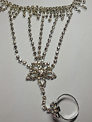 Rich Long Women's Star Diamonade Hand Chain