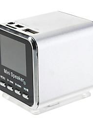 Portable Speakers Mini com MP3 Player
