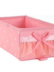 Liscio Novelty Pattern Solid Storage Box
