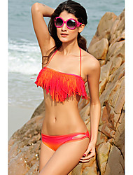Sexy Halter Ruffle Bikini Set